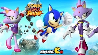 Sonic Jump Fever Unlock Blaze the Cat