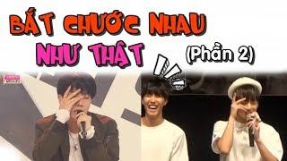 [ BTS funny moments #14] Bắt chước nhau như thật (Phần 2) =)))) (BTS imitating each other 2)