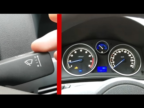 Hidden features OPEL ASTRA H / Translation wipers in winter mode to Opel Astra H