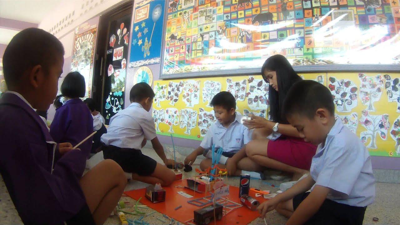 Stem Activity Amusement Park Making First Grade Class Raw Footage