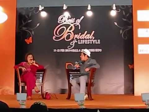 "Glam TV: Talk Show ""Bual Laser"" Hafeez Glamour with Jorah Ahmad at S'pore Expo"
