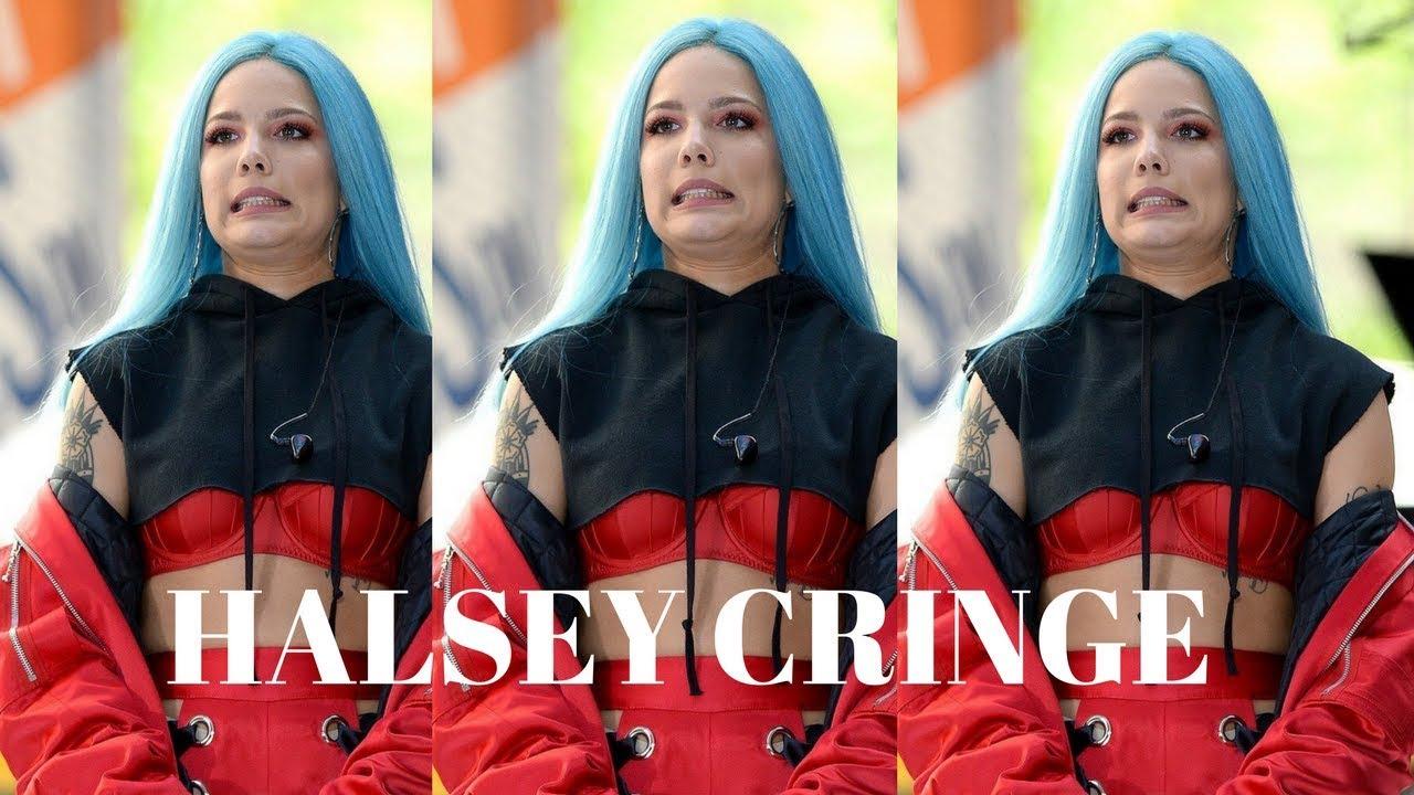 Halsey S Worst Moments Cringe