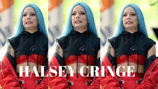 Halsey's worst moments(cringe)