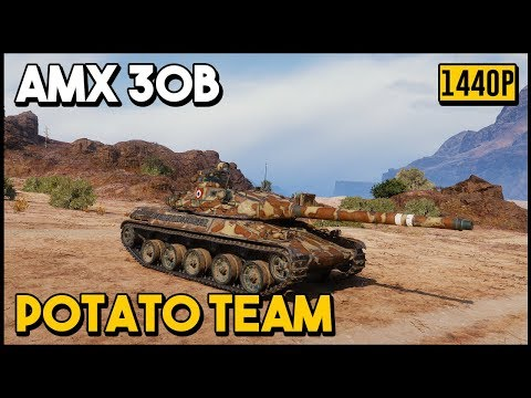 AMX 30B - 10.2k Damage - 7 Kills - World of Tanks thumbnail