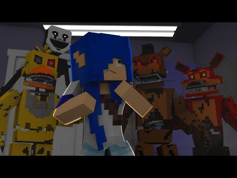 E SE FIVE NIGHTS AT FREDDYS EXISTISSE NO MINECRAFT?