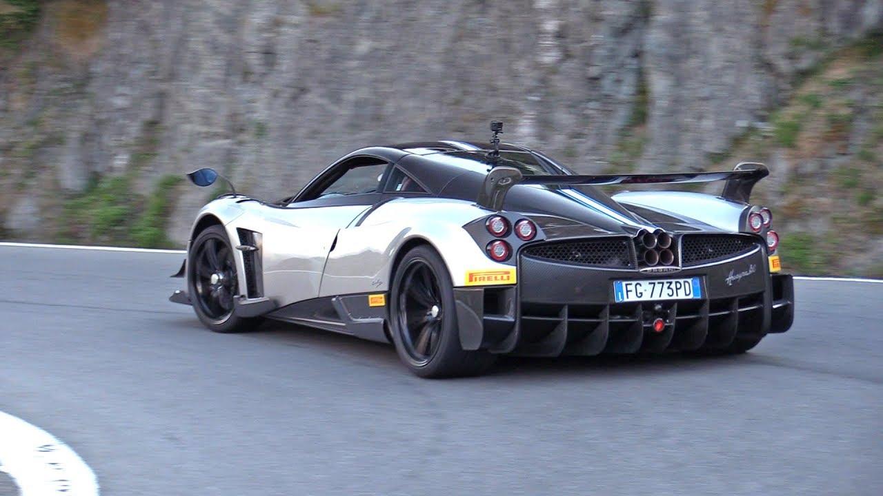 Pagani Huayra BC Accelerating, Drag Racing & More!