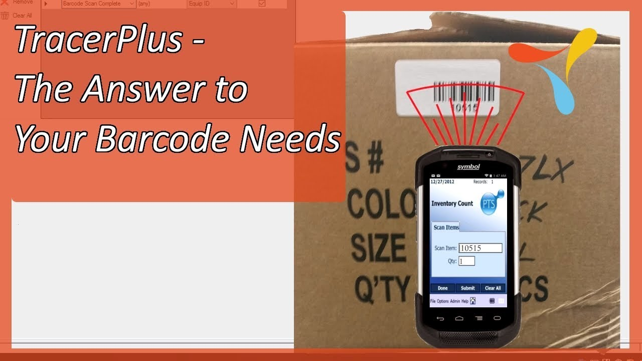 Mobile Barcode Software - TracerPlus | Tracerplus