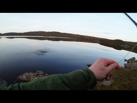 Isle Of Lewis Trout Fishing - Dry Fly Brace