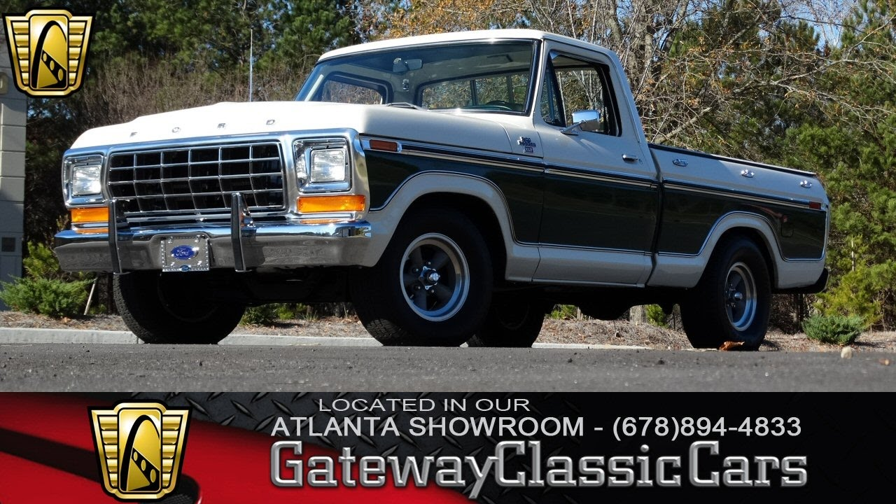 1978 ford f100 ranger gateway classic cars of atlanta 118 youtube