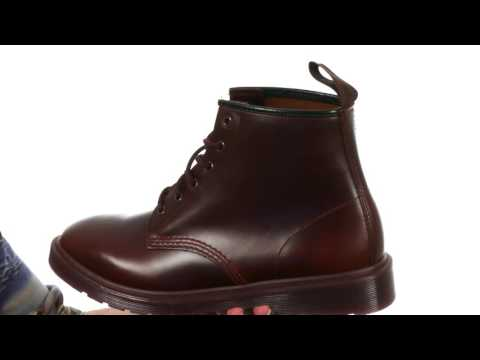 nice shoes cheaper special section Dr. Martens 101 Brando 6-Eyelet Boot SKU:8904110 - YouTube