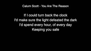 Calum Scott - You are the reason Lyrics (Live From Abbey Road Studios)