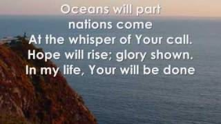 oceans will part - hillsong with lyrics