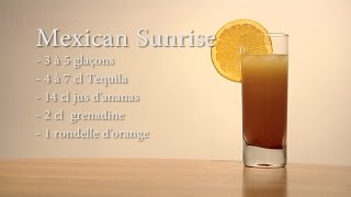 cocktail mexican sunrise