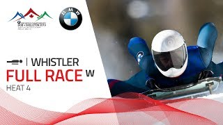 Whistler | BMW IBSF World Championships 2019 - Women's Skeleton Heat 4 | IBSF Official