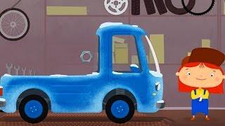 Мультфильм про машинки - Доктор Машинкова 🚗 -  Пикап и зимняя резина🏎
