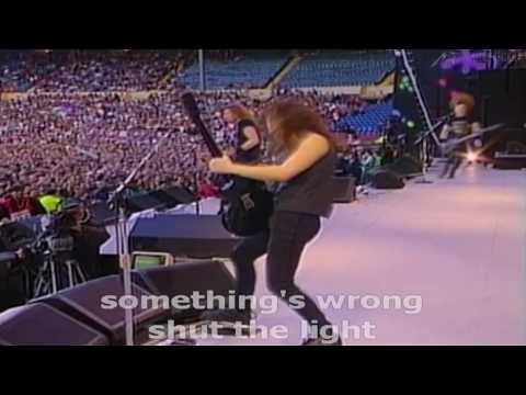 Metallica - Enter Sandman [Live Wembley 1992] (W/ Lyrics)