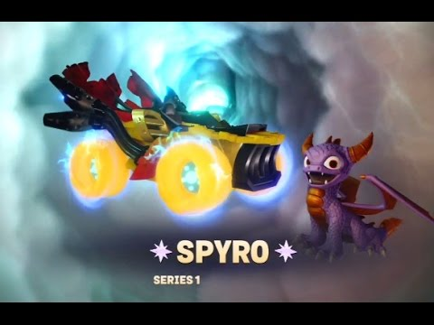 Skylanders SuperChargers Spyro Driving A Vehicle YouTube