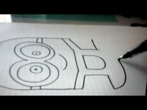 Comment dessiner un minion debutant youtube - Dessin de noel facile a faire ...