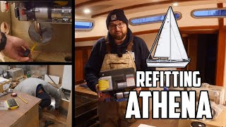 Sail Life - Dometic Proheat X30 hydronic heater on a boat, part 1 of 3 - DIY project