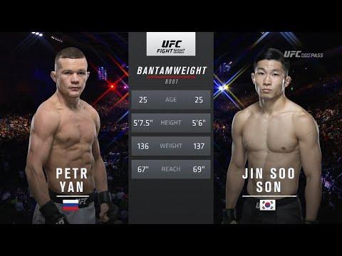 UFC free fight Petr Yan vs Jinsoo Son