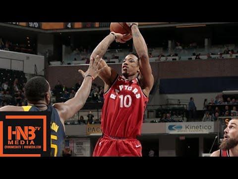 Toronto Raptors vs Indiana Pacers Full Game Highlights / March 15 / 2017-18 NBA Season
