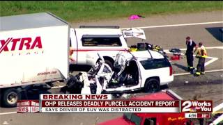 Oklahoma Highway Patrol report: Driver of SUV in deadly Purcell crash was distracted