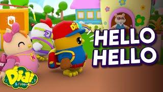 Hello Hello | Fun Family Song | Didi & Friends Song for Children
