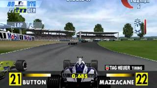 F1 Championship Season 2000 Silverstone Race (PS1)