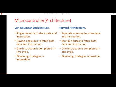 Difference Between Von Neuman And Harvard Architecture Youtube