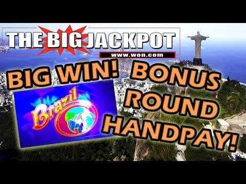 ✦ $90 / SPIN ✦ BIG JACKPOT WIN ON 🇧🇷 BRAZIL 🇧🇷 BONUS ROUND! w/ The Big Jackpot