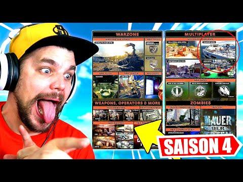 La SAISON 4 de WARZONE : TOUTES LES NOUVEAUTÉS !! (Call of Duty: Black Ops Cold War DLC)
