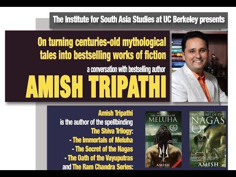 Amish Tripathi   On turning centuries-old mythological tales into bestselling works of fiction