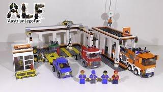 Lego City 7642 Garage / Grosse Autowerkstatt - Lego Speed Build Review