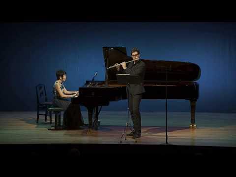 Franz Benda. Flute Sonata in F Major. Eduard Belmar,flute