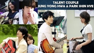 Video Talent Couple - Park Shin Hye and Jung Yong Hwa download MP3, 3GP, MP4, WEBM, AVI, FLV Maret 2018