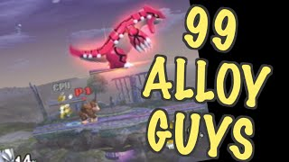 99 Alloy Guys (Super Smash-99 Red Balloons Parody)