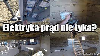 #vlogbudowlany #15 Elektryka prąd nie tyka? 230V na budowie! Schody tymczasowe (9/15)