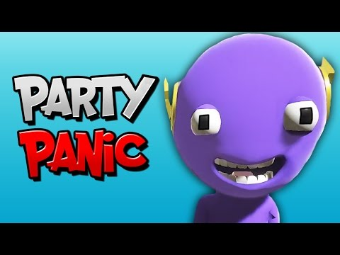 THE FASTEST IDIOT ALIVE! | Party Panic (ft. BasicallyIDoWrk, Ohm, & Ze)