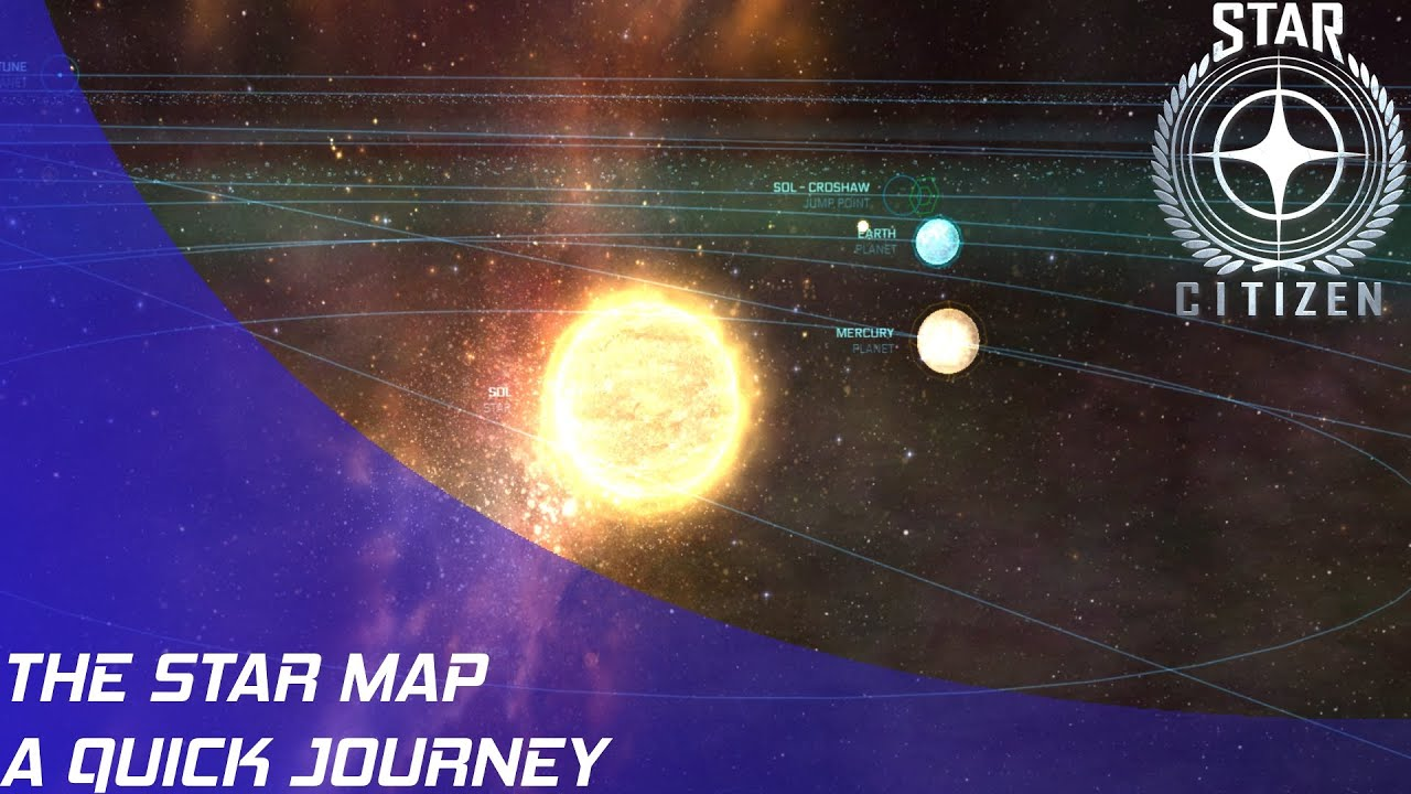 Rsi Star Map.Star Citizen Quick Star Map Journey Youtube