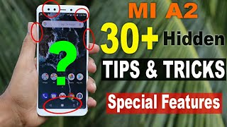 Xiaomi M  A2 Tips And Tricks  30 Special Hidden Features🔥🔥🔥
