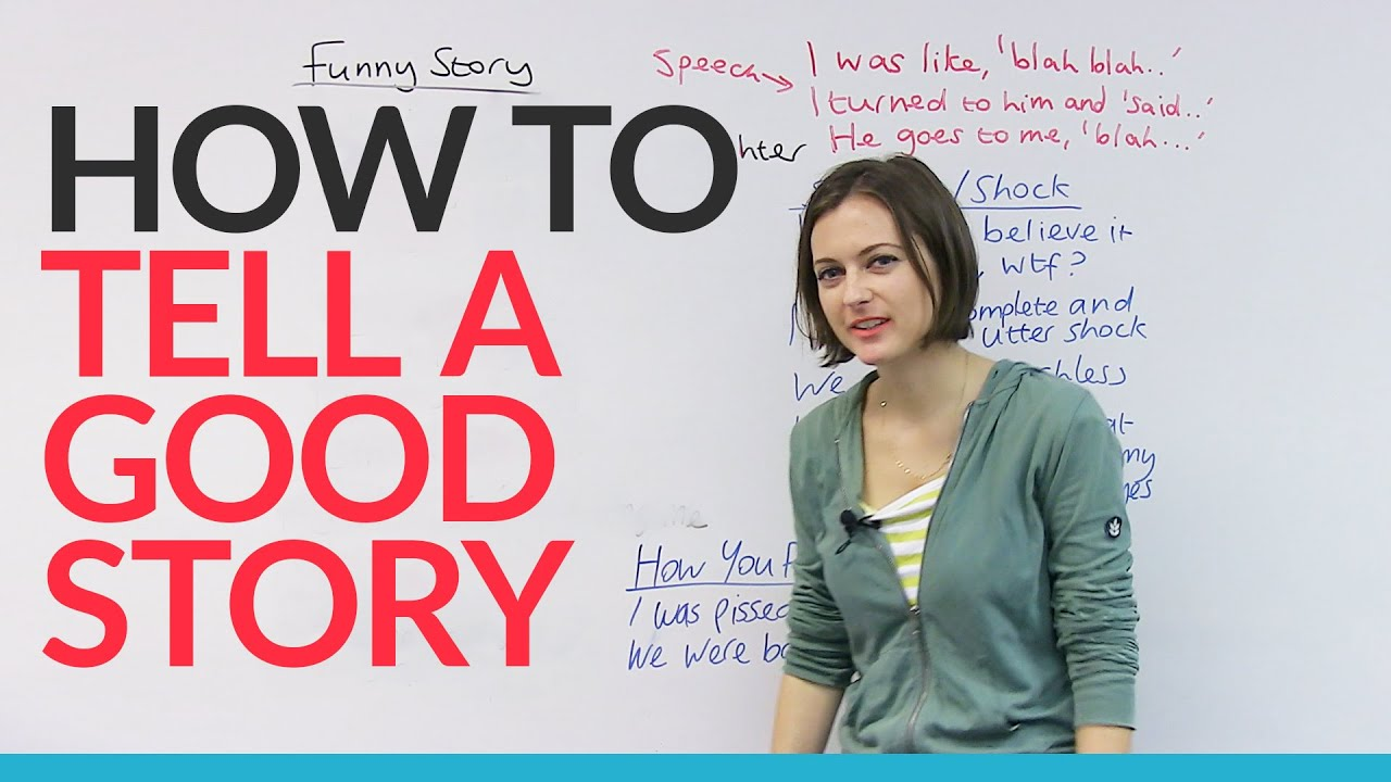 Watch How to Tell a Story video