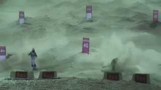 Ruka Mogul WC 2014 Crash