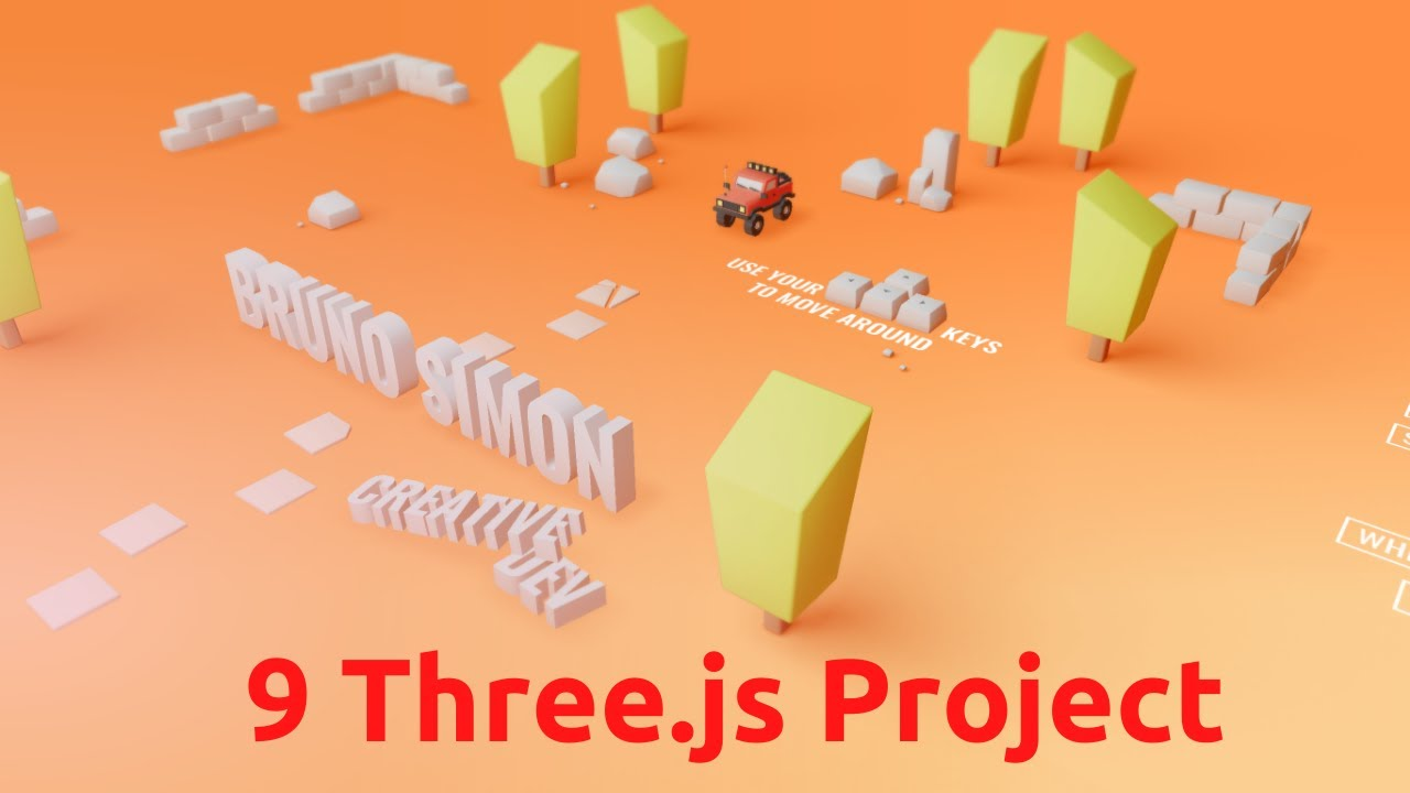 Top 9 Three.js Advance Project