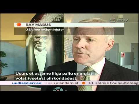 U.S. Secretary of the Navy Visit to Estonia (Courtesy ETV)