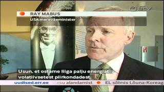 U.S. Secretary of the Navy Visit to Estonia (Courtesy ETV)