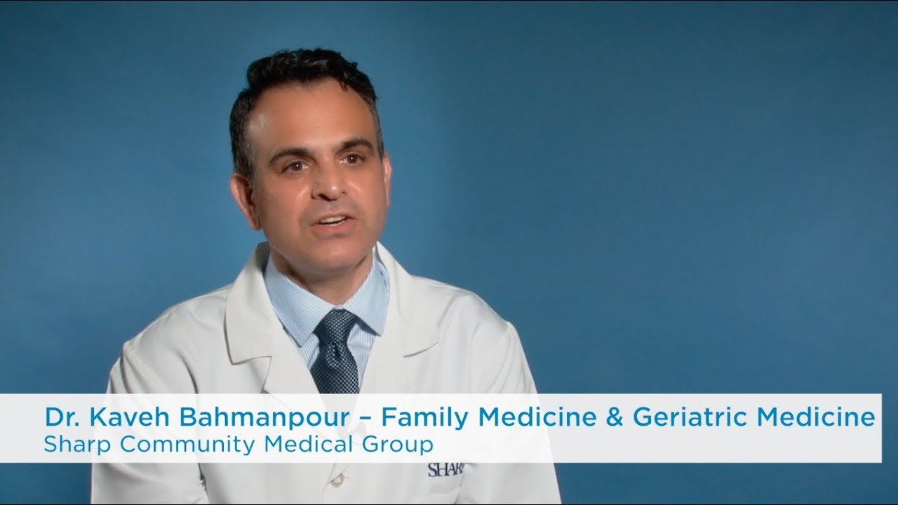 Kaveh Bahmanpour, MD | Sharp Community Medical Group