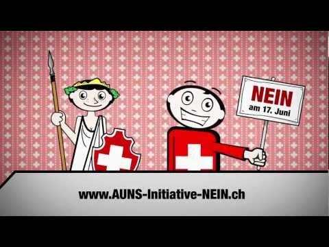 Economiesuisse AUNS Initiative Nein - C-Factor