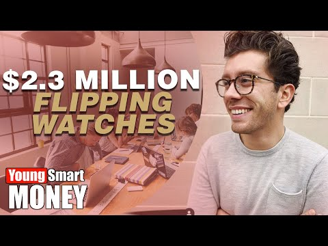 Christian Zeron: $2.3 Million Selling Vintage Watches At 23