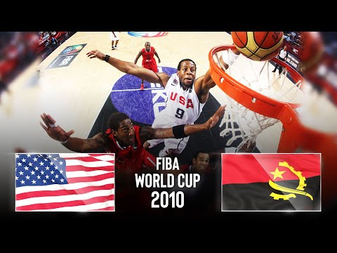 🔴 - USA 🇺🇸 v Angola 🇦🇴 | Classic Full Games - FIBA Basketball World Cup 2010