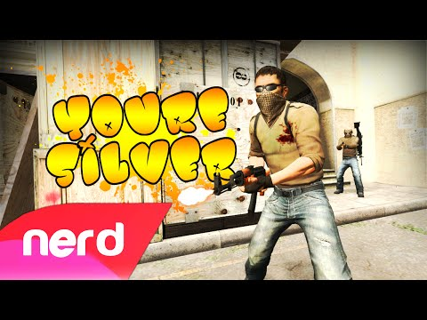 "CS:GO Song | ""You're Silver"" (Jason Derulo - Get Ugly Parody) Feat Deluxe 4!"